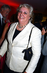 ANN BECKWITH-SMITH a former lady in waiting to the late Diana, Princess of Wales at a party to celebrate the UK launch of Diana:The Portrait, the authorised book about the late Princess Of Wales's life and work, held at the National Portrait Gallery, London on 1st September 2004.  The book was commissioned by The Diana, Princess of Wales Memorial Fund and writen by Ros Coward.