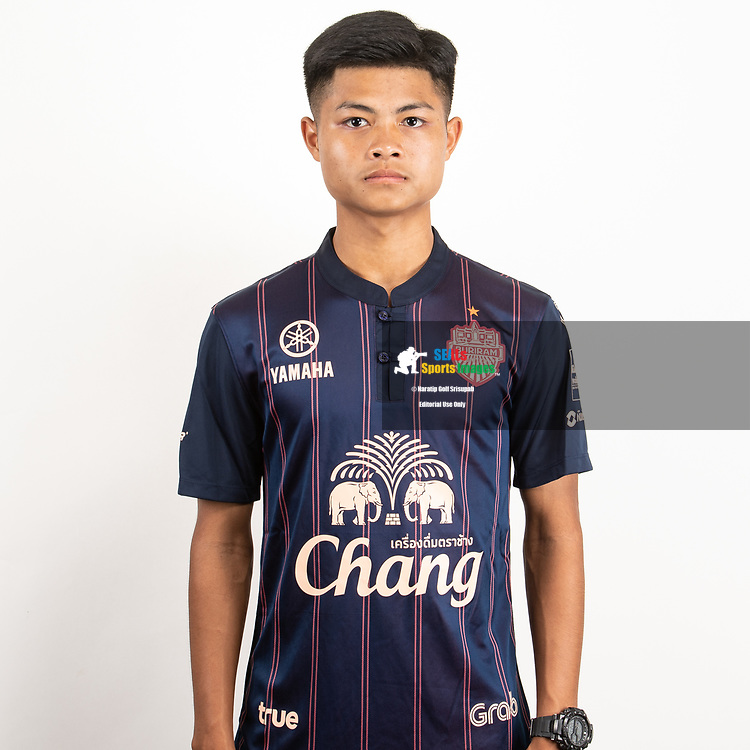 THAILAND - JUNE 26: Apidet Janngam #70 of Buriram United on June 26, 2019.<br /> .<br /> .<br /> .<br /> (Photo by: Naratip Golf Srisupab/SEALs Sports Images/MB Media Solutions)