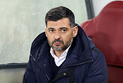 February 12, 2019 - Rome, Italy - Porto manager Sergio Conceicao during the UEFA Champions League round of 16, first leg football match AS Roma and FC Porto on February 12, 2019 at the Olympic stadium in Rome, Italy. (Credit Image: © Matteo Ciambelli/NurPhoto via ZUMA Press)