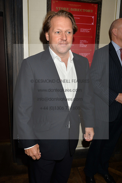 DAVID ROSS at a party to celebrate the publication of 'Let's Eat meat' by Tom Parker Bowles held at Fortnum & Mason, Piccadilly, London on 21st October 2014.