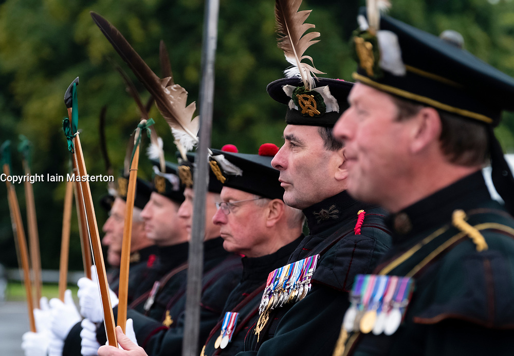 The Royal Company of Archers is a ceremonial unit that serves as the Sovereign's Bodyguard in Scotland
