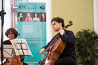 18/07/2015 repro free. The Galway International Arts Festival presented Contempt Quartet at the Aula in NUI, Galway . The Galway International Arts Festival runs till  July 26th .  <br /> Photo:Andrew Downes:XPOSURE