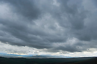 Threatening storm clouds over eastern Washington between Selah and Ellensburg USA&#xA;<br />