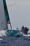 FRANCE, Marseille. 18th June 2011. AUDI MedCup Marseille Trophy. Costal Race. TP52, Quantum Racing.