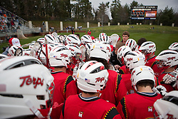 Maryland before the start of the UVA game.  The #9 ranked Maryland Terrapins fell to the #1 ranked Virginia Cavaliers 10 in 7 overtimes in Men's NCAA Lacrosse at Klockner Stadium on the Grounds of the University of Virginia in Charlottesville, VA on March 28, 2009.