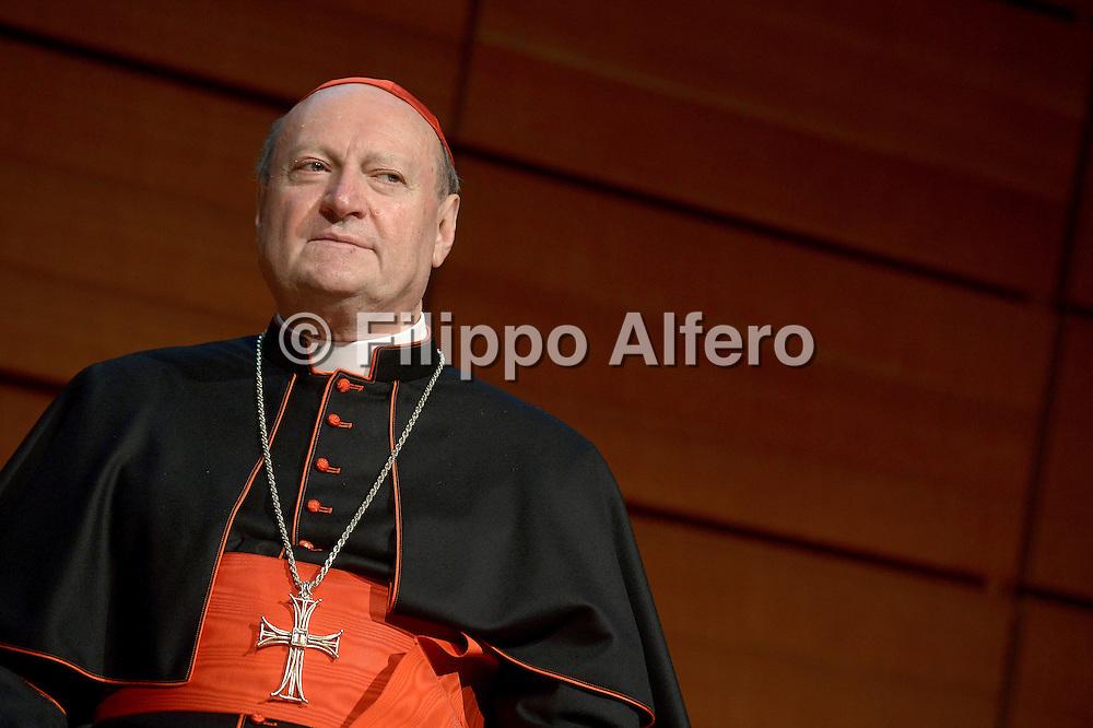 &copy; Filippo Alfero<br /> Salone del Libro 2014<br /> Torino, 10/05/2014<br /> Nella foto: il cardinale Gianfranco Ravasi
