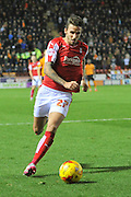 Rotherham United striker Matt Derbyshire during the Sky Bet Championship match between Rotherham United and Wolverhampton Wanderers at the New York Stadium, Rotherham, England on 5 December 2015. Photo by Ian Lyall.