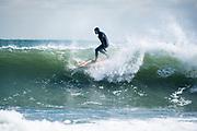WInter surf from Winter Storm Stella in Narragnasett, Rhode Island