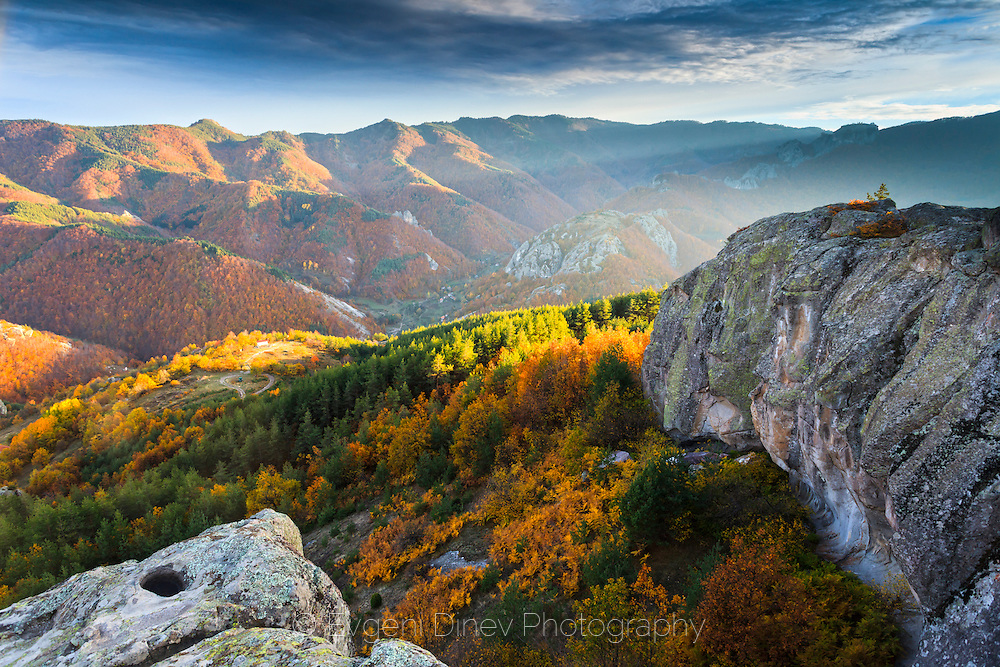 Thracian sanctuary Belintash in Rhodope Mountains