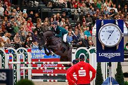 SKRZYCZYNSKI Jaroslaw (POL), Calevo<br /> Leipzig - Partner Pferd 2018   <br /> Longines FEI World Cup Jumping Qualifikation    <br /> © www.sportfotos-lafrentz.de/Stefan Lafrentz