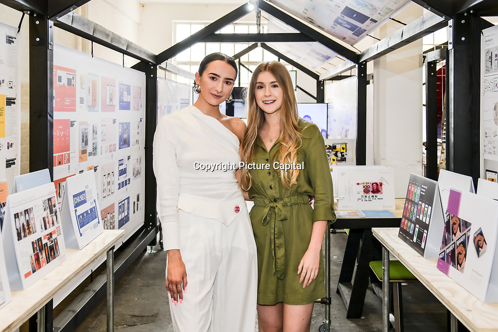Graduate Fashion Week 2019 - Day One backstage on 2 June 2019, London, UK.
