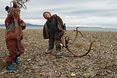 Reindeer men. Chukotka, Russia