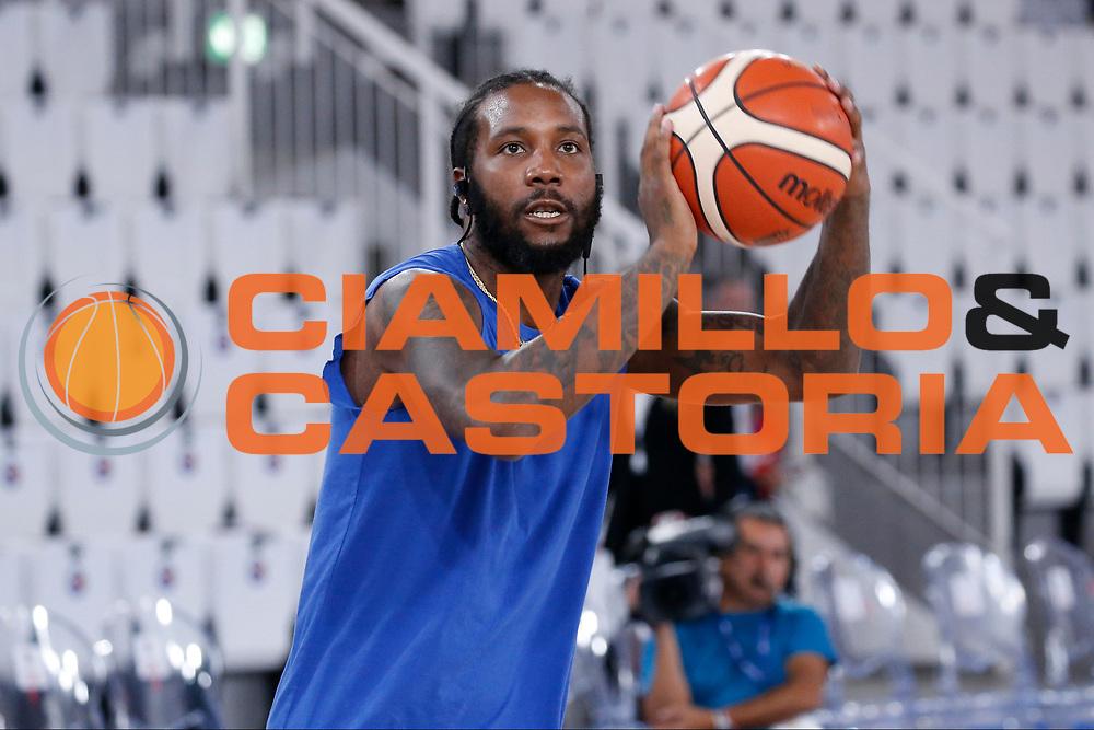 Taylor Jamal Tyshawn<br /> A|X Armani Exchange Milano - Fiat Torino<br /> Zurich Connect Supercoppa 2018-2019<br /> Lega Basket Serie A<br /> Brescia 30/09/2018<br /> Foto Ciamillo &amp; Castoria
