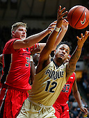 NCAA Basketball - Purdue Boilermakers  vs Rutgers Scarlet Knights - West Lafayette, IN