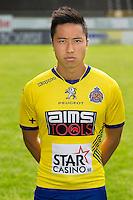 Waasland-Beveren's Arthur Irawan poses during the 2015-2016 season photo shoot of Belgian first league soccer team Waasland-Beveren, Tuesday 07 July 2015 in Beveren-Waas.