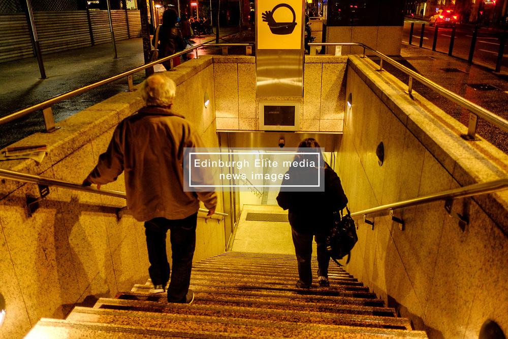 Entrance to the Carmes Metro Station in the Rue du Languedoc, Toulouse, France<br /> <br /> (c) Andrew Wilson | Edinburgh Elite media