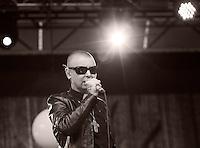 Konsert med Sinead O'Connor under Midtsommerazz 2013 på Prestebrygga ved Waterfront hotell i Ålesund.<br /> Foto: Svein Ove Ekornesvåg