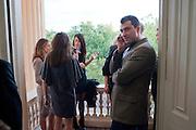 OLIVIER VARENNE;, MCA- Sydney cocktails. Brandon rooms. ICA. London. 11 October 2011. <br /> <br />  , -DO NOT ARCHIVE-© Copyright Photograph by Dafydd Jones. 248 Clapham Rd. London SW9 0PZ. Tel 0207 820 0771. www.dafjones.com.