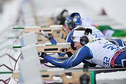 SHULGA Dmytro Guide: GERGARDT Artur, Biathlon at the 2014 Sochi Winter Paralympic Games, Russia
