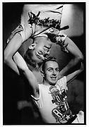 Joe Strummer and Paul Simonon of The Clash, Shoreditch, London 1981
