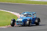 #77 Christopher Wright Caterh Am Superlight R300-S during the BookaTrack.com Caterham Superlight R300 Championship at Oulton Park, Little Budworth, Cheshire, United Kingdom. August 13 2016. World Copyright Peter Taylor/PSP.