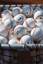 Stack of Major League Baseballs