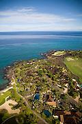 Aerial, Hualalai, Kona Coast, Island of Hawaii