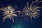 Mannheim. 29.07.17 | ID 043 |<br /> Maimarktgel&auml;nde. Pyrogames. Feuerwerker in vier Teams z&uuml;nden ihre Feuerwerkchoreografien ab und lassen sich vom Publikum bewerten. <br /> <br /> Bild: Markus Pro&szlig;witz 29JUL17 / masterpress
