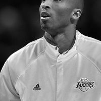 15 December 2009: Los Angeles Lakers guard Kobe Bryant is seen prior to the Los Angeles Lakers 96-87 victory over the Chicago Bulls at the United Center, in Chicago, Illinois, USA.