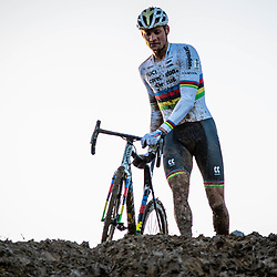2019-12-14 Cycling: dvv verzekeringen trofee: Ronse: Mathieu van der Poel pictured during the Hotondcross