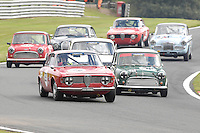 HSCC Gold Cup Oulton Park, Cheshire, United Kingdom.  28th-29th August 2011.  Race 11 HSCC ByBox Historic Touring Cars.  39 Paul Hopkinson - Alfa Romeo Giulia Sprint GT. World Copyright: Peter Taylor/PSP. Copy of publication required for printed pictures. Every used picture is fee-liable.