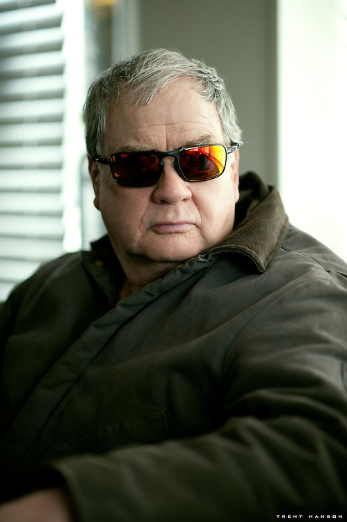Jim Hanson in Badman Sunglasses
