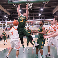 1st year forward Carter Millar (13) of the Regina Cougars during the 5th year night on February  11 at Centre for Kinesiology, Health and Sport. Credit: Casey Marshall/Arthur Images