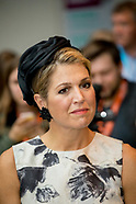 Queen Maxima attend World of Health Care , The Hague 28-09-2017
