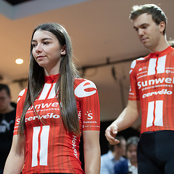 10-12-2019: Wielrennen: Teampresentatie Sunweb: Amsterdam: Liane Lippert