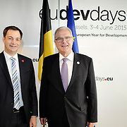 20150604- Brussels - Belgium - 04 June2015 - European Development Days - EDD  - Neven Mimica DEVCO  and Alexander De Croo Belgian Minister  © EU/UE