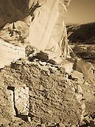 Views of the Monarch Cave Ruins and rock art, off of Butler Wash Road, San Juan County, Utah