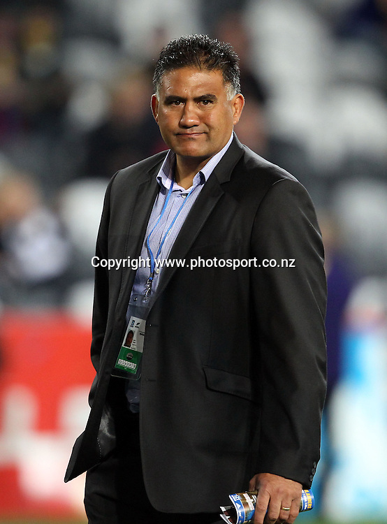 Highlanders coach Jamie Joseph.<br /> Investec Super Rugby - Highlanders v Stormers, 7 April 2012, Forsyth Barr Stadium, Dunedin, New Zealand.<br /> Photo: Rob Jefferies / photosport.co.nz