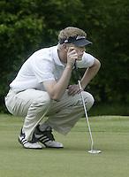 ARNHEM - Wouter de Vries.    Voorjaarswedstrijden Golf heren op de Rosendaelsche Golfclub COPYRIGHT KOEN SUYK