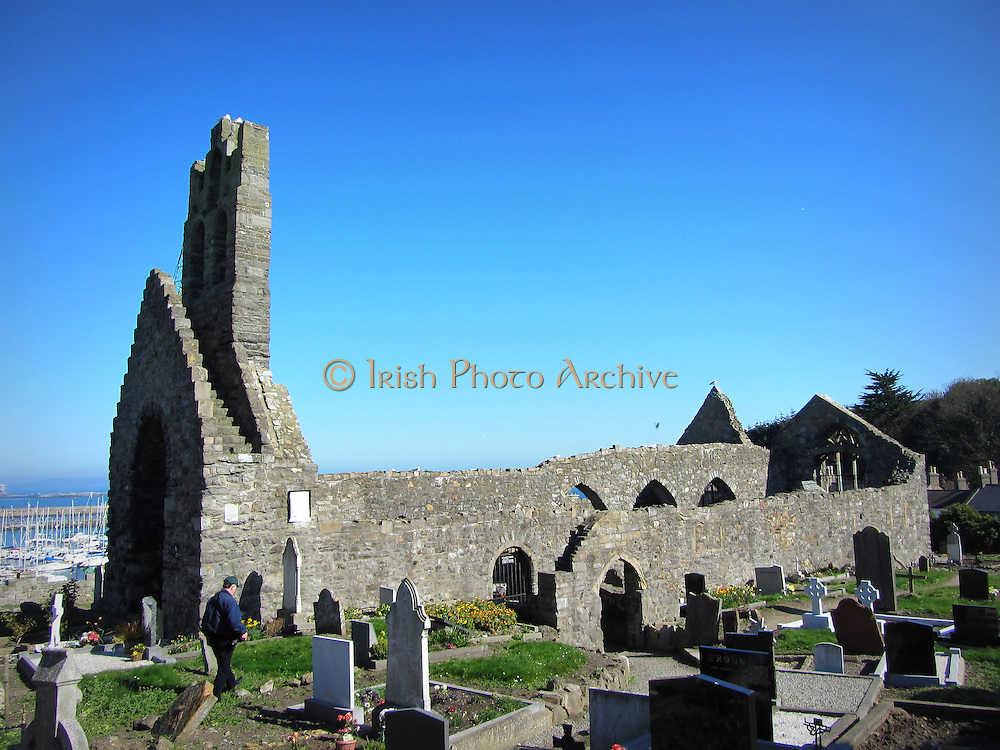 St Mary's Abbey, Howth,  Dublin, c.14th century a.d,