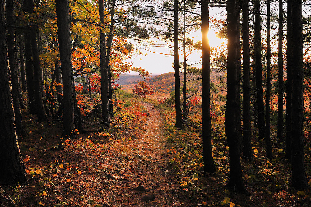 Porcupine Mountains,<br /> Michigan's Upper Peninsula
