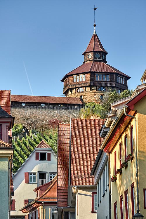 Dicker Turm von der Altstadt aus