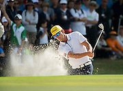 HONG KONG, CHINA - DECEMBER 11:Final round of the 58th Hong Kong Open at The Hong Kong Golf Club Fanling, Hong Kong, Hong Kong SAR, China on December 11, 2016. Rafa CABRERA BELLO seen in action,loses to Sam Brazel of Australia on the final hole.