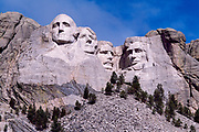 Mount Rushmore National Memorial, South Dakota, USA, August 2004