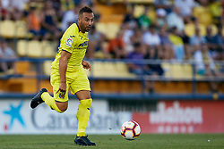 July 17, 2018 - Villareal, Castellon, Spain - Santi Cazorla of Villarreal CF runs with the ball during the Pre-Season Friendly match between Villarreal CF and Hercules CF at Mini Estadi on July 17, 2018 in Vila-real, Spain  (Credit Image: © David Aliaga/NurPhoto via ZUMA Press)