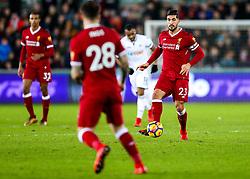 Emre Can of Liverpool in action - Rogan/JMP - 22/01/2018 - FOOTBALL - Liberty Stadium - Swansea, Wales - Swansea City v Liverpool - Premier League.