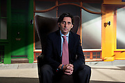 Business Portrait Jose Maria Palletta the new  CEO O2 Europe taken in the Slough headquarters  on Febuary 1st 2012...Photo Ki Price .