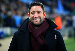 Bristol City head coach Lee Johnson smiles - Mandatory by-line: Matt McNulty/JMP - 09/01/2018 - FOOTBALL - Etihad Stadium - Manchester, England - Manchester City v Bristol City - Carabao Cup Semi-Final First Leg