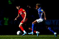 Callum O'Dowda of Bristol City takes on Leandro Bacuna of Cardiff City - Mandatory by-line: Robbie Stephenson/JMP - 10/11/2019 -  FOOTBALL - Cardiff City Stadium - Cardiff, Wales -  Cardiff City v Bristol City - Sky Bet Championship