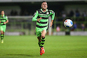 Forest Green Rovers Elliott Frear (11) chases the ball during the Vanarama National League match between Forest Green Rovers and Eastleigh at the New Lawn, Forest Green, United Kingdom on 13 September 2016. Photo by Shane Healey.